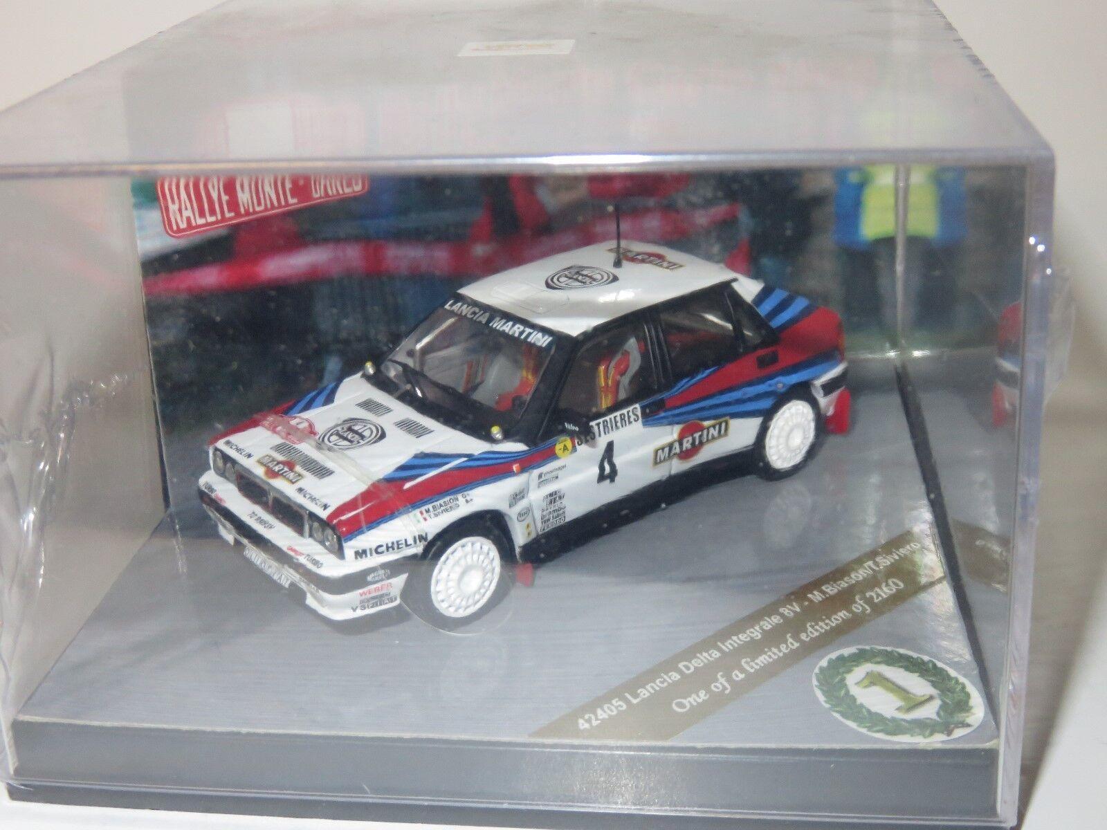 1/43 Lancia Delta Integrale 8 V Martini winner winner winner Rallye Monte Carlo 1989 M. Biasion | Qualité Fine  b37109