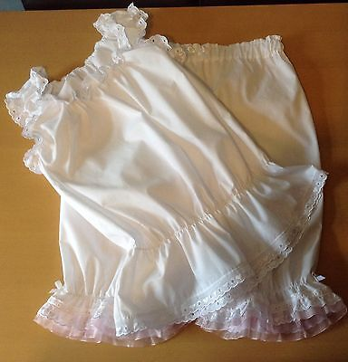 Brillant Short Legged Bloomers With Matching Camisole