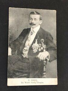 Ricardo-Sacco-World-039-s-Fasting-Champion-Hunger-Artist-WW1-Europe-Circus-Postcard