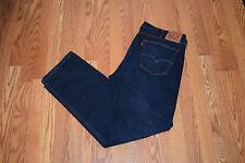 NWT Mens 505 LEVIS 2-Way Stretch 5 Pocket Zipper Fly Dark Wash Jeans 38 W 32 L