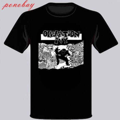 New Operation Ivy Op Ivy Ska Punk Band Men/'s Black T-Shirt Size S M L XL 2XL 3XL