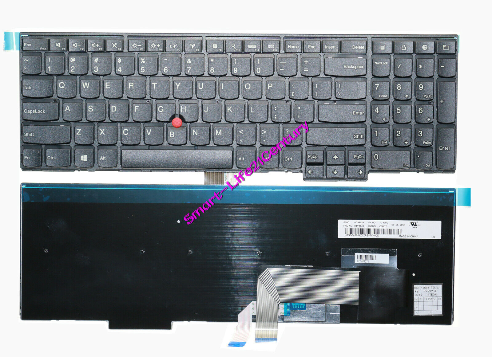 For lenovo IBM Thinkpad T560 series laptop Keyboard ---can't compatible T560s