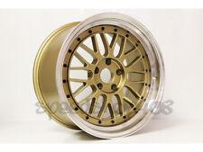 Linea Corse Sdm Lm Wheels Royal Gold 18x95 30 5x1143 Sti Tl Wrx Tsx Is Gs