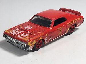 Hot Wheels /'69 Cougar Eliminator HW Main Street 12 Cranston Fire Engine 2 Yellow