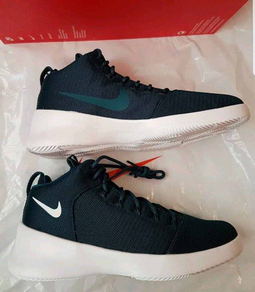 Bnib men's Nike Hyper FR3SH teal white trainers size UK 7.5 (eur 42)