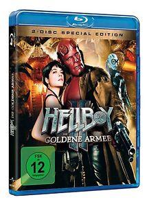 2-Blu-rays-HELLBOY-2-DIE-GOLDENE-ARMEE-R-Perlman-Selma-Blair-NEU-OVP