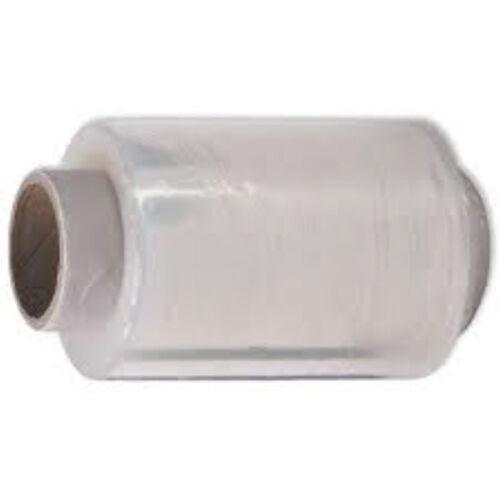 80 x Mini Clear Pallet Wrap 100mm x 150m Rolls Hand Stretch Shrink Film