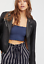 NEW Free People Intimately Smocked Crop Top in Blue Size XS//S /& M//L $54.11