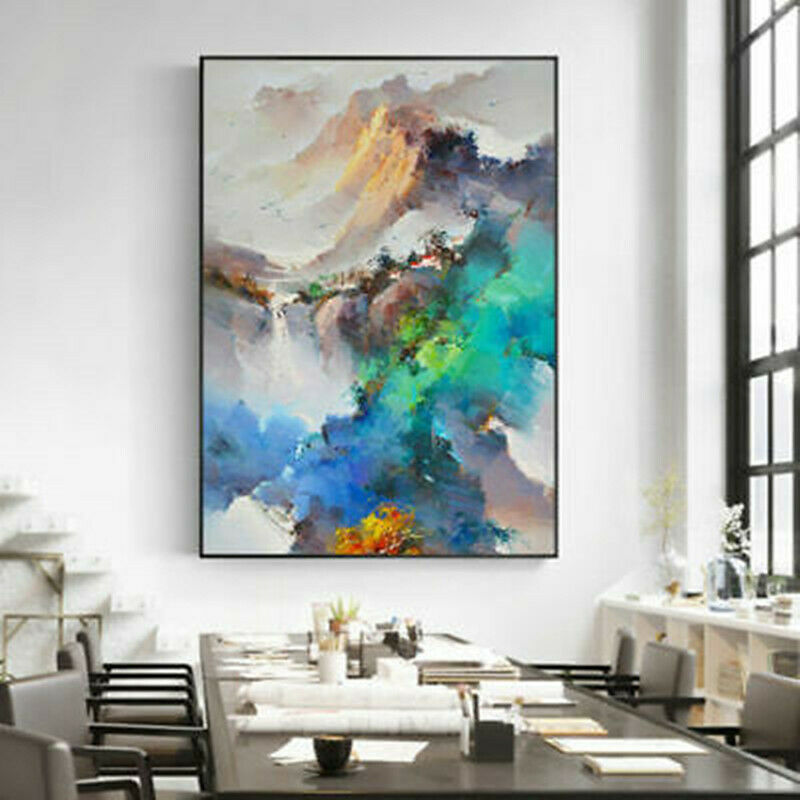 CHOP183  handmade-painted abstract home art oil painting naked girl on canvas