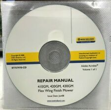 Ford New Holland 410gm 420gm 430gm Flex Finish Wing Mower Service Repair Manual