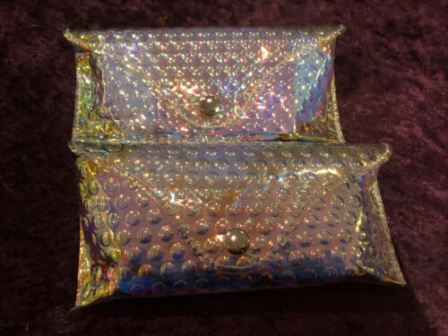 Brand New Skinny Dip Holographic Bubble Glasses// Sunglasses Pouch