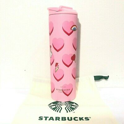 Thailand Starbucks 2020 Zodiac Pink Rat with Mushroom 16 oz