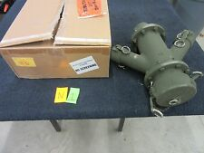 """MILVACO TITE CAM FUEL GAS Y PIPE FITTING 4"""" 2"""" MILITARY SURPLUS MANIFOLD NEW"""