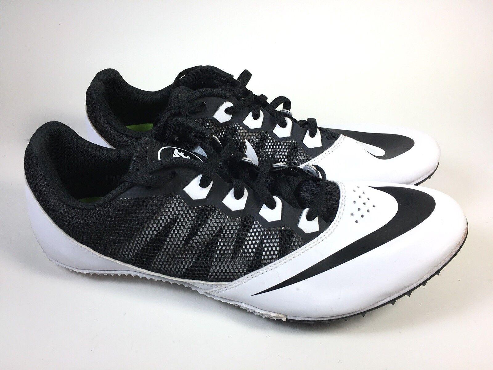 Nike rivale s md racing sprint sprint sprint 616313-017 uomini sz 11 bianco scarpe nere con i tacchetti | Moderno Ed Elegante A Moda  | Eccellente qualità  | Prezzo ottimale  fcba83