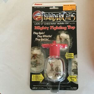 Vintage-1985-ThunderCats-Mighty-Fighting-Top-by-Janex-Extremely-RARE
