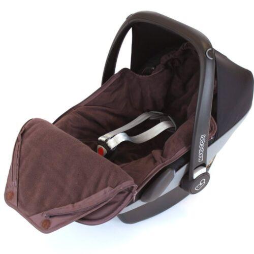 Silver Cross Britax Hot Chocolate Newborn Baby Car Seat Footmuff Fits Maxi Cosi