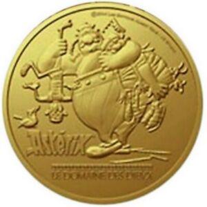 FRANCE-2015-Medaille-France-Asterix-Obelix-La-Monnaie-de-Paris-Jeton