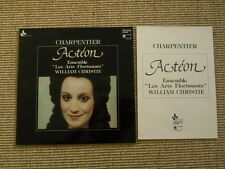 Charpentier Acteon Ensemble Les Arts Florissants Christie LP washed /gewaschen