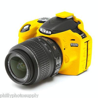 easyCover Armor Protective Skin for Nikon D3200 - (Yellow)