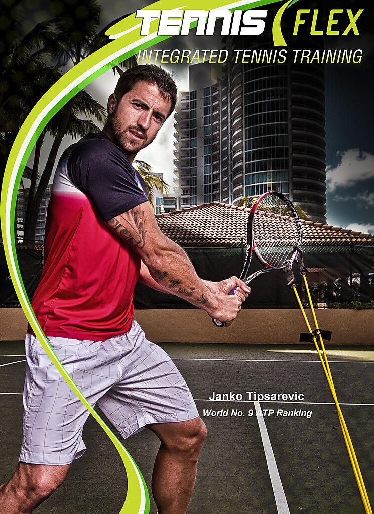 Janko Tipsarevic  Ultimate  Training with TennisFlex