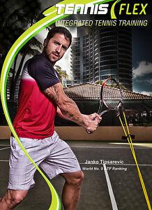 Janko Tipsarevic Get Tennis Tuned Avec Tennisflex-afficher Le Titre D'origine