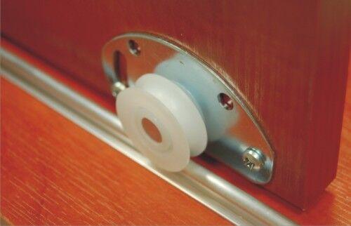 Schiebetür  Beschläge für 3 Türen  Schranktüren 3 x 25 kg inkl Schienen
