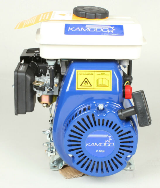 2.5hp 4stroke 15mm Horizontal Shaft Petrol Engine Motor Kamodo 152F #3411241