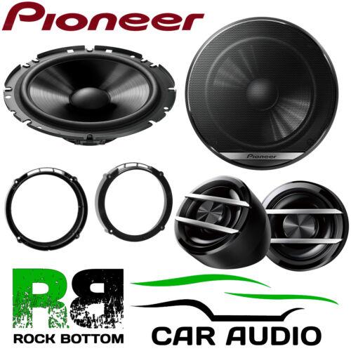 Pioneer Asiento Leon MK2 2005-2012 600W Componente Altavoces De Coche Puerta Frontal