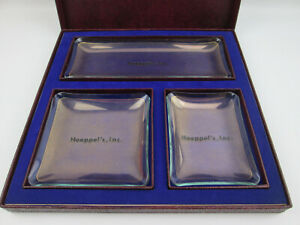 Advertising-Promotional-Glass-Trays-Hoeppel-039-s-National-Tires-of-El-Cerrito-CA