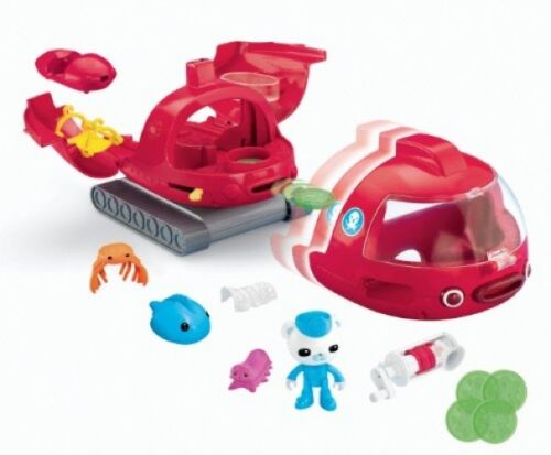 Octonauts Launch and Rescue Gup X Toy Vehicle KIDS Sounds Pretend Playset NEW