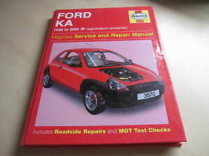 Image Is Loading Haynes Workshop Manual Ford Ka