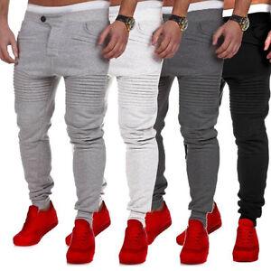 New-Men-039-s-Casual-Baggy-Hiphop-Dance-Folds-Jogger-Sweatpants-Trousers-Harem-Pants