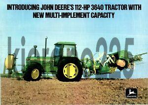 A3-John-Deere-3640-Tractor-Poster-Sales-Brochure-Advertisement-Britains-Farm