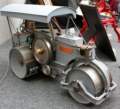 CCMV Classic Commercial Motor Vehicles   Aveling-Barford  Road Roller Aveling