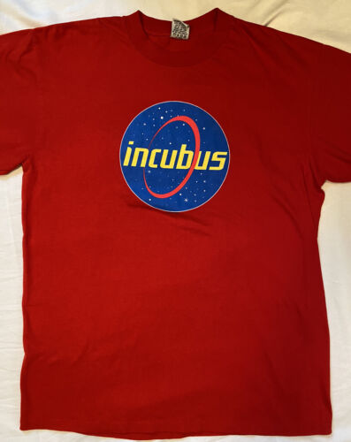 Vintage Incubus Band T Shirt Size Large