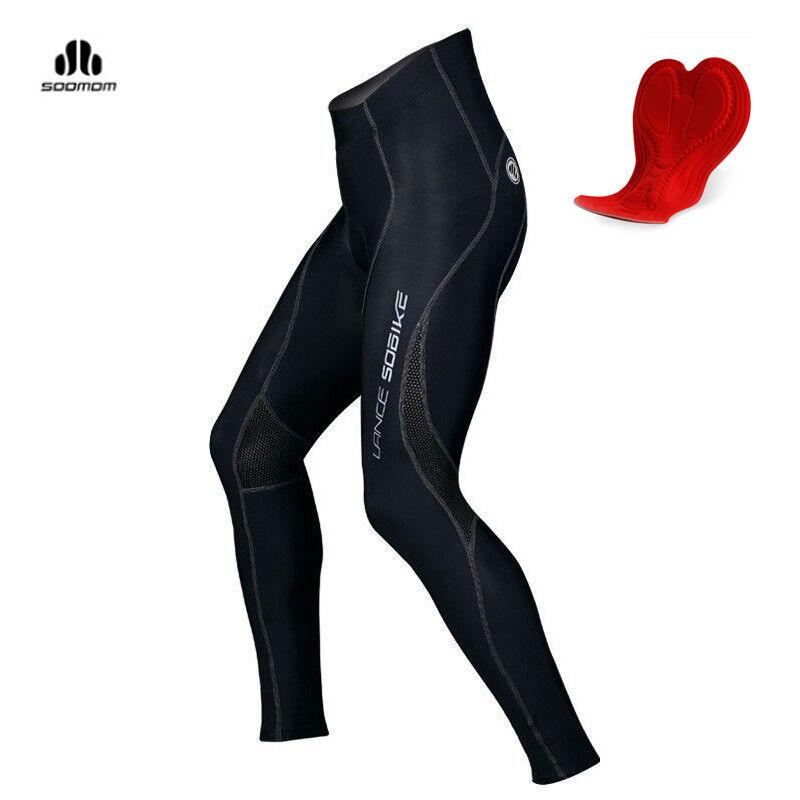 SOBIKE Estate Sport Ciclismo Collant pantscruise Nero Nuovo Stile