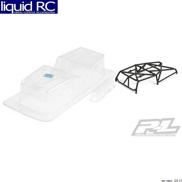 Pro-Line 3488-11 1966 Ford Bronco Clear Body with Ridge-Line Trail Cage for Scx1