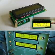 LCD Voltage Current Power battery Capacity Resistance Time AH coulomb Meter