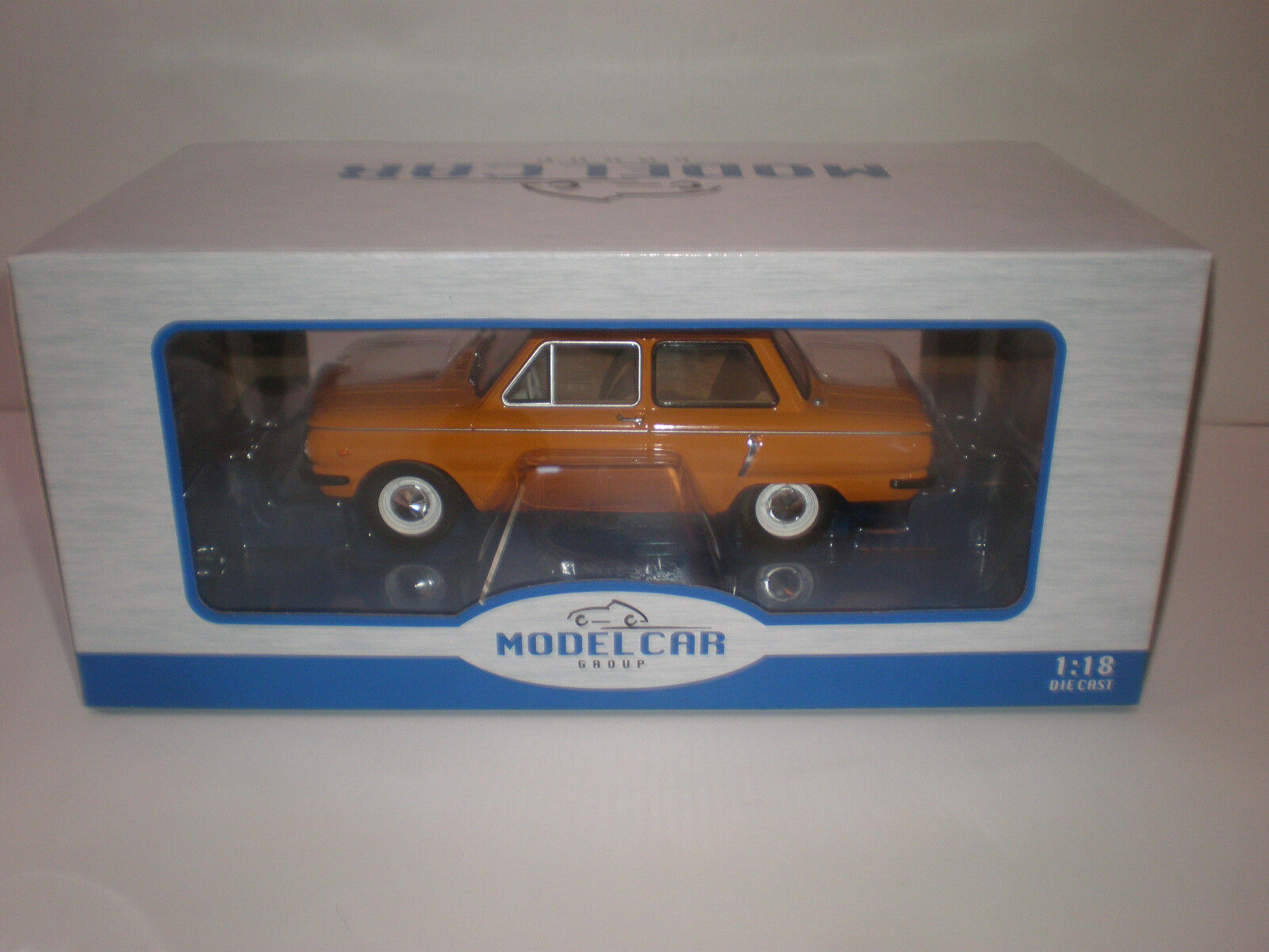 1 18 1966 ZAZ-966  Zapgoldzhets  orange MCG Model Car Group   Diecast model