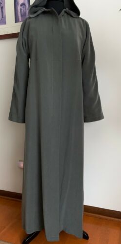 Searle Trench Long Coat Grey Sz 8