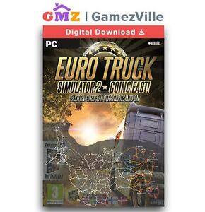 Details about Euro Truck Simulator 2 Going East! DLC Steam Key PC Digital  Code [EU/US/MULTI]