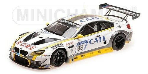 BMW M6 GT3 Rowe Racing  98 2nd Place 24h Nürburgring 2017 - 1 18 - Minichamps