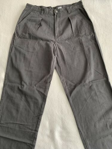 CALVIN KLEIN MENS PANTS CK JEANS CHARCOAL GREY SIZ