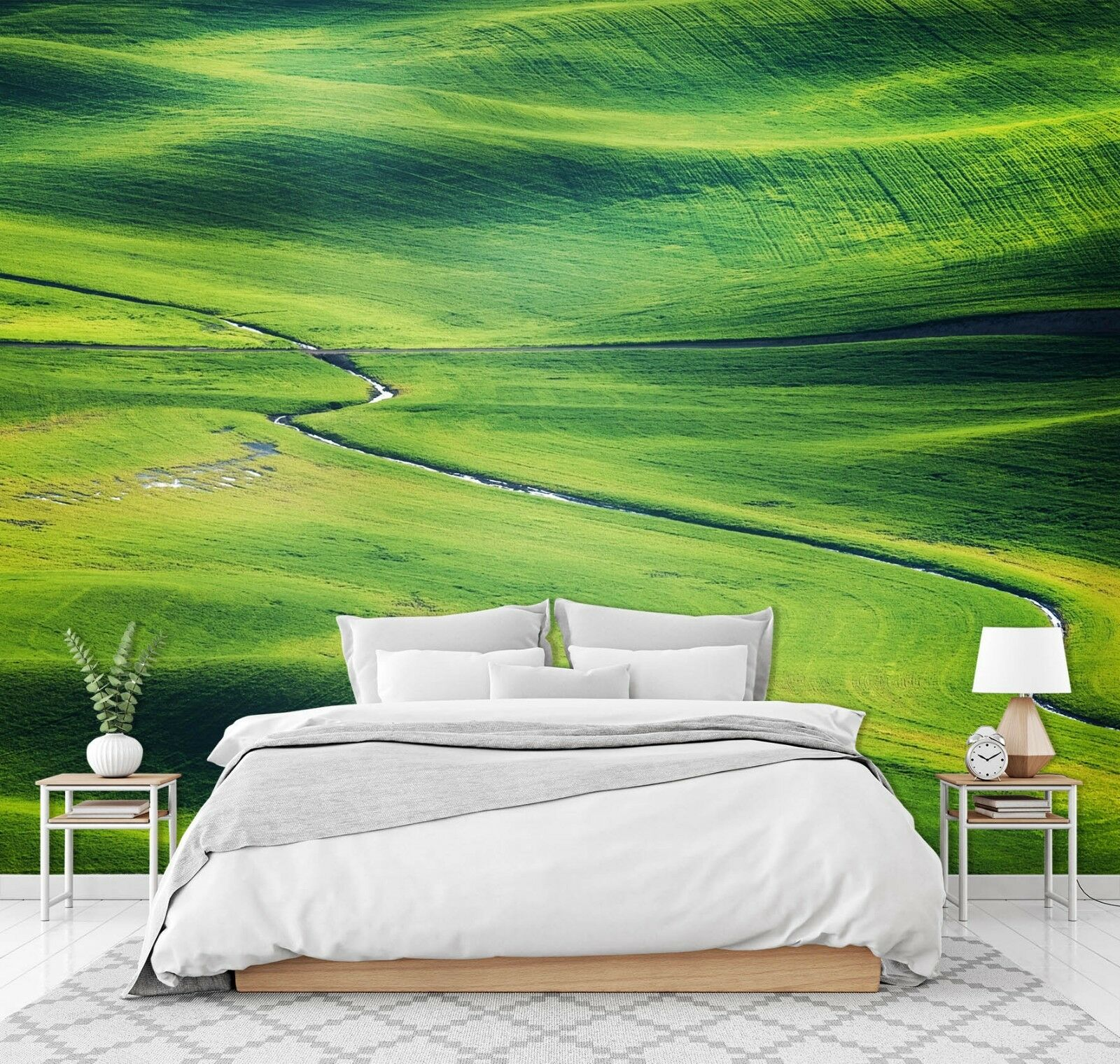3D Grün Lawn 7184 Wall Paper Print Wall Decal Deco Indoor Wall Murals US Summer