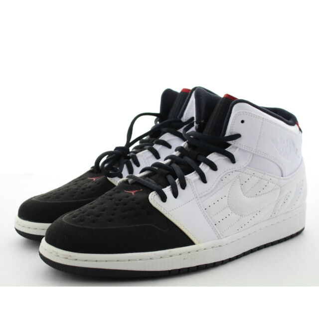 super popular d09dd 43fec Nike Air Jordan 1 Retro  99 Mens 654140-101 White Black Basketball ...