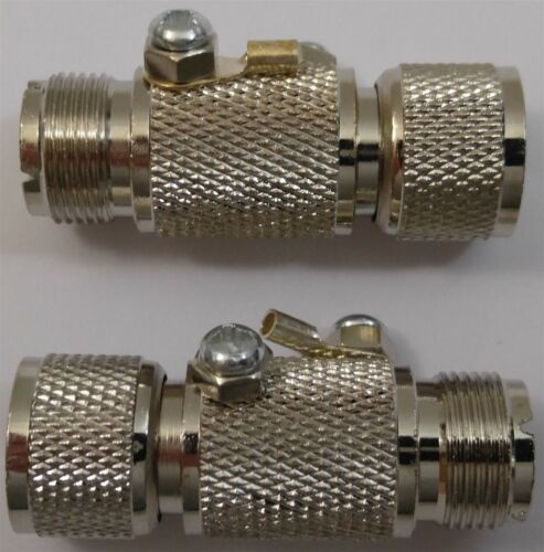 Ham Base Antenna Coaxial Cable Lightning Arrestor Lot of 2 Workman A-28 CB