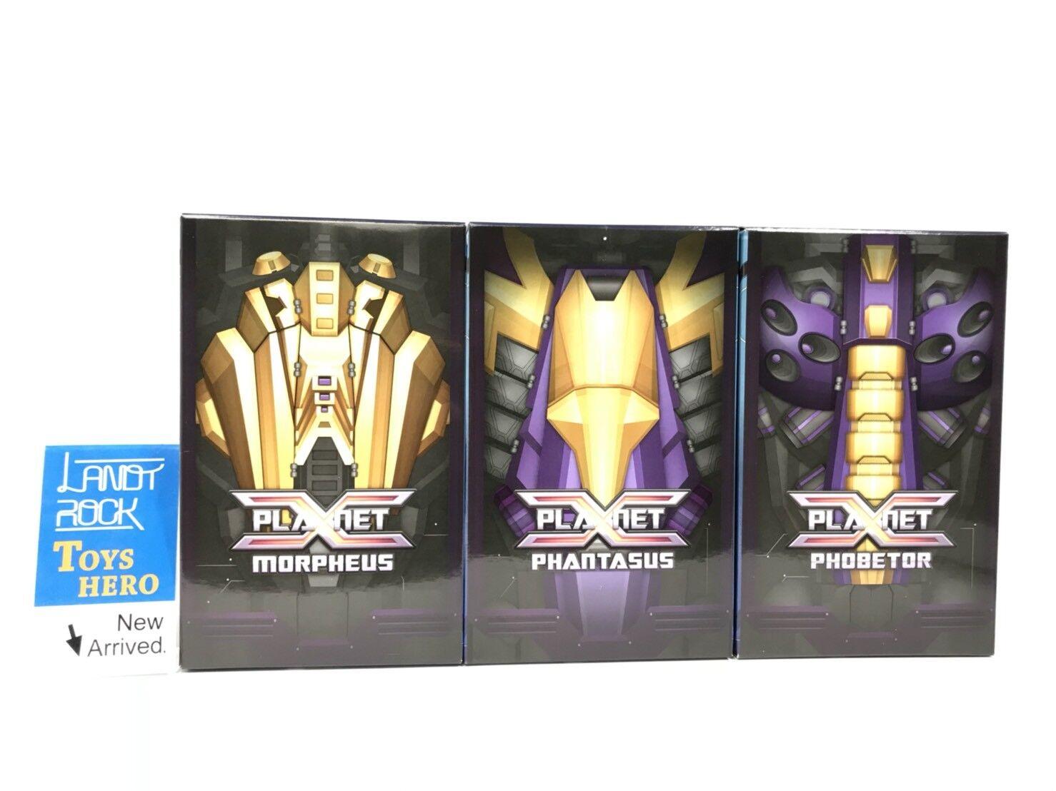 Toys Hero In hand PlanetX PX-17 Morpheus PX-18 Phobetor PX-19 Phantasus set of 3