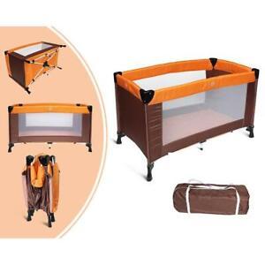 Lit-Parapluie-Pliable-Standard-CE-125-x-65-x-76-cm-Orange-Marron