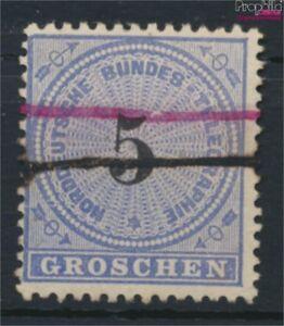 Norddeutscher-Postbezirk-T5-Federzugentwertung-gestempelt-1869-Telegra-9158135