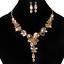 Elegant-Retro-Charm-Rhinestone-Crystal-Pendant-Choker-Statement-Bib-Necklace-Set thumbnail 15